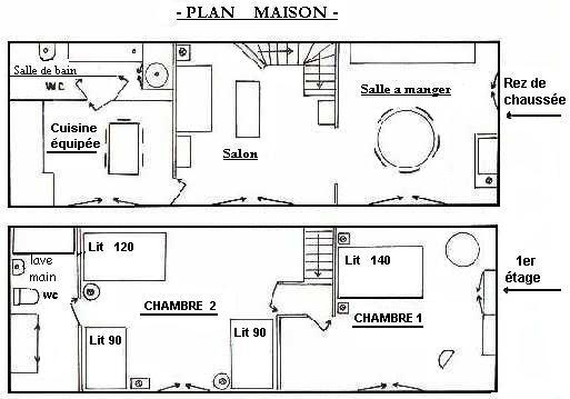 Plan De Maison Americaine Beautiful Plan Maison Americaine Moderne